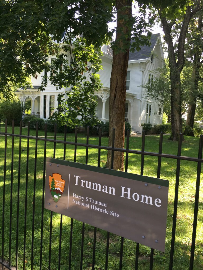 Truman's Home in Independence, Missouri.