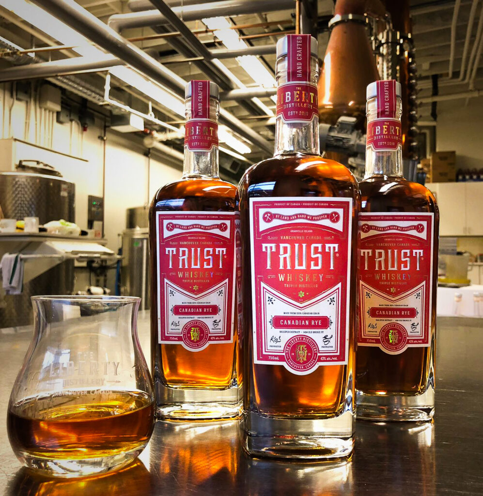 Trust Whiskey from the Liberty Distillery