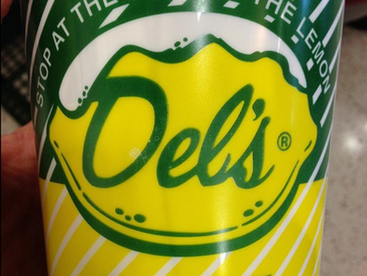 Tub of lemonade