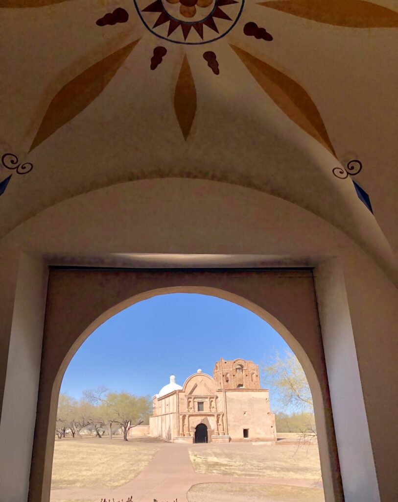 Tumacacori National Historical Park in Santa Cruz County, Arizona.