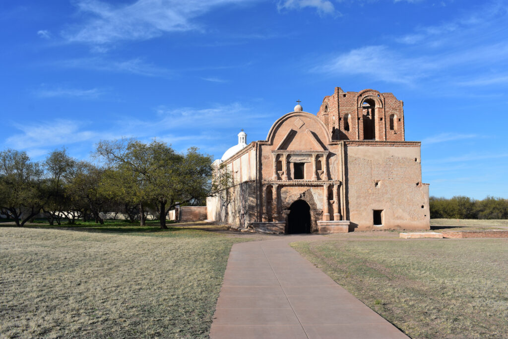 Tumacacori National Historical Park in Arizona.