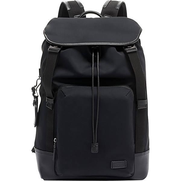 Tumi Harrison Randall Laptop Rucksack in black.