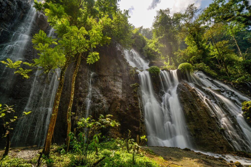 Tumpak Sewu waterfalls in Indonesia.