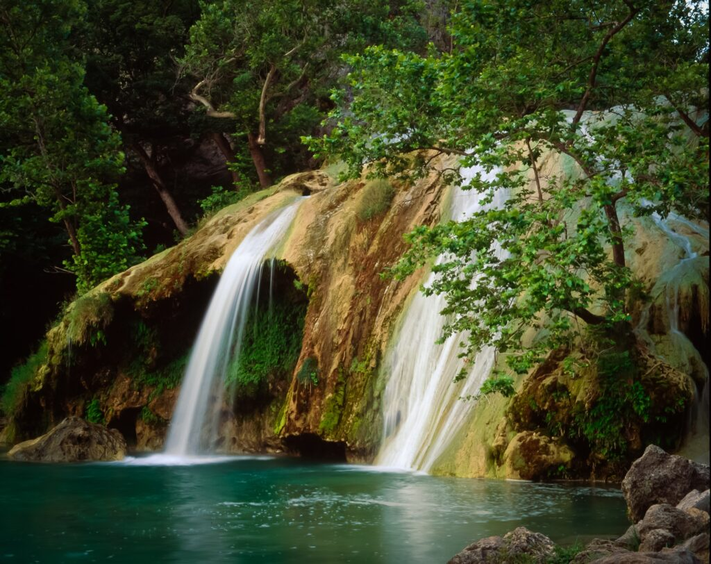 Turner Falls in Arbuckle Wilderness Park.