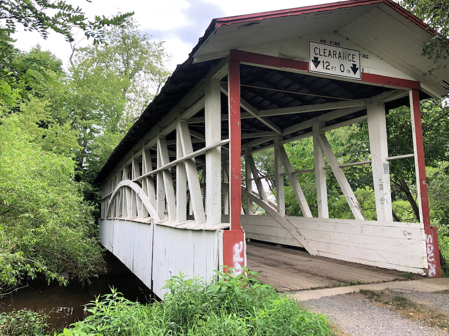 Turner's Covered Bridge in Bedford County.