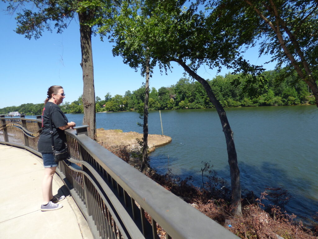 Tuscaloosa Riverwalk.