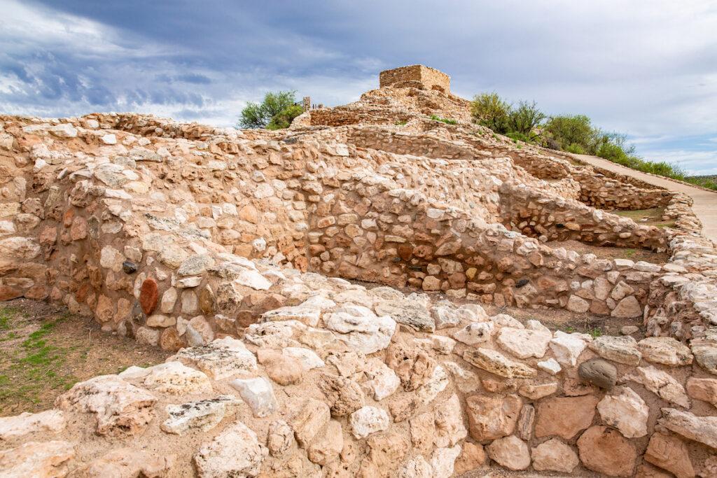 Tuzigoot, another Sinagua village in Arizona.