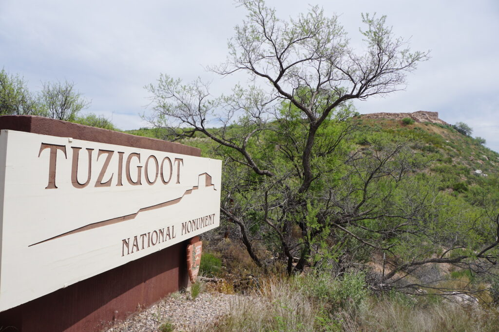 Tuzigoot National Monument in Clarkdale, Arizona.