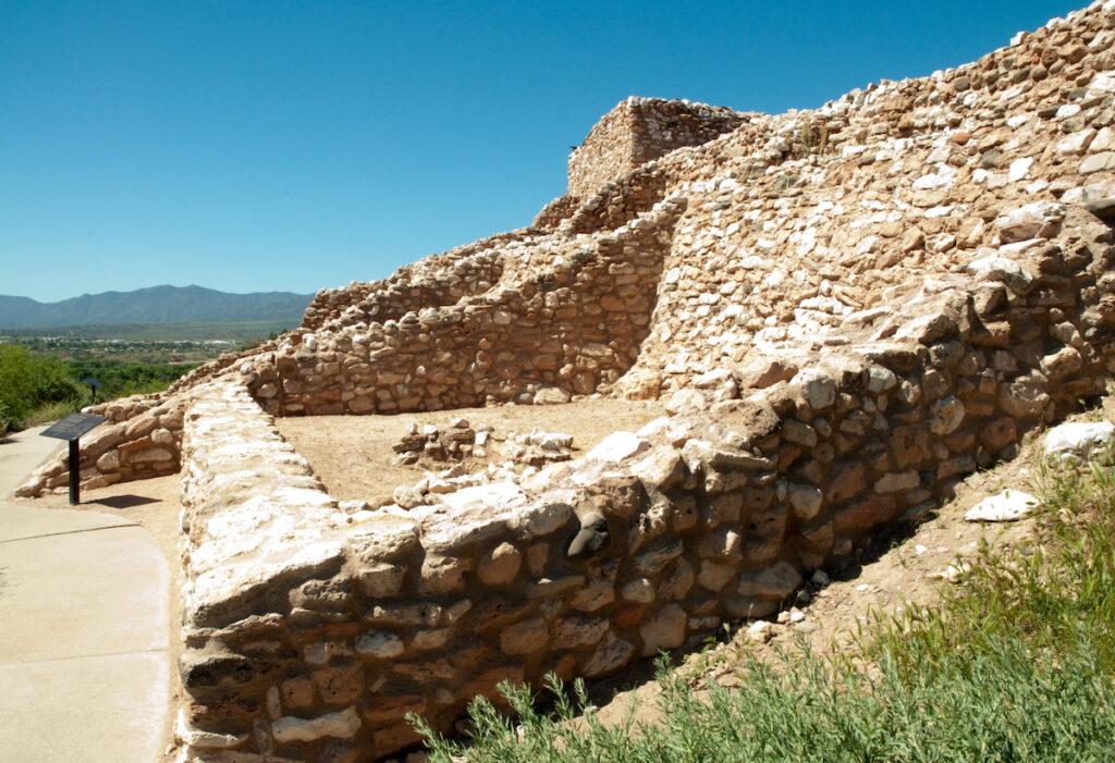 Tuzigoot National Monument near Flagstaff, Arizona.