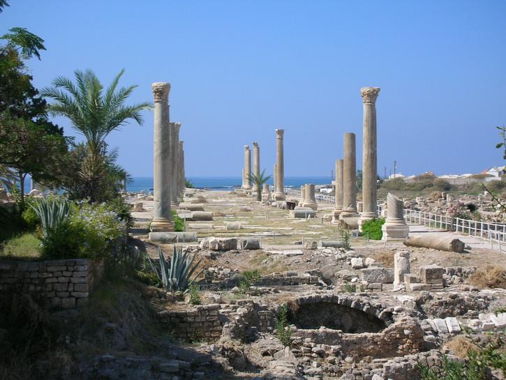 Tyre ruins lebanon