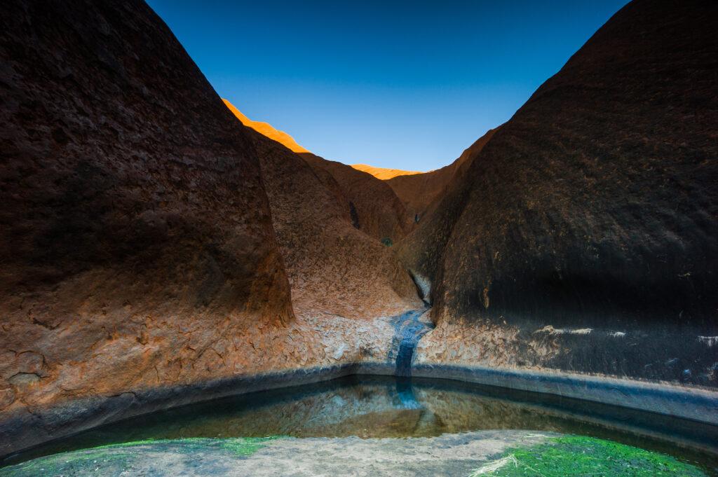 Uluru's Mutitjulu Rock Pool in Northern Territory, Australia