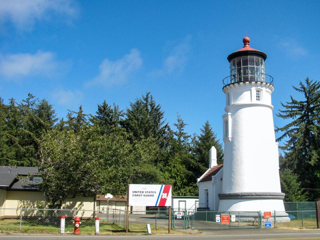 Umpqua River Lighthouse in Oregon.