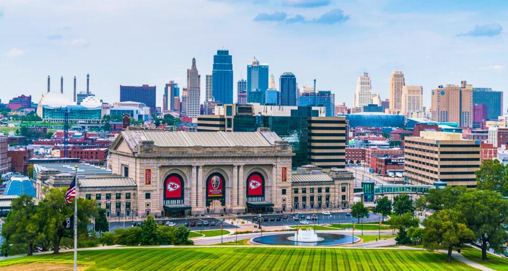 Union Station and the Kansas City Skyline