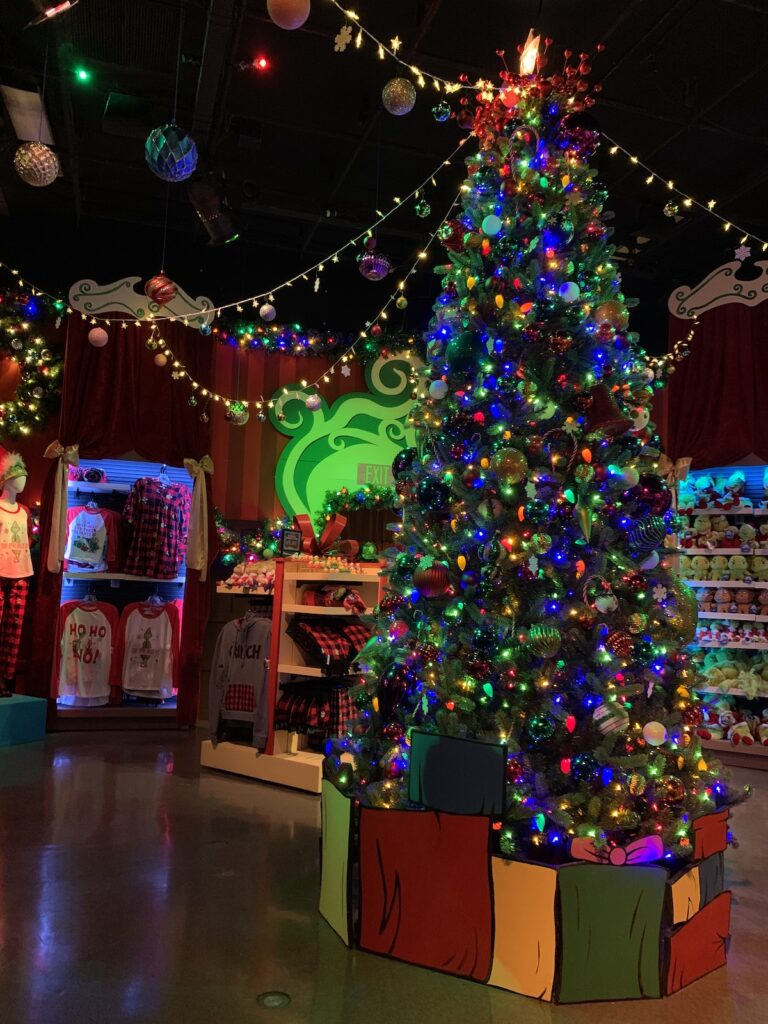 Universal's Holiday Tribute store.