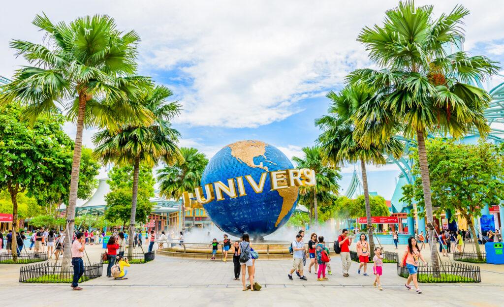 Universal Studios in Singapore.
