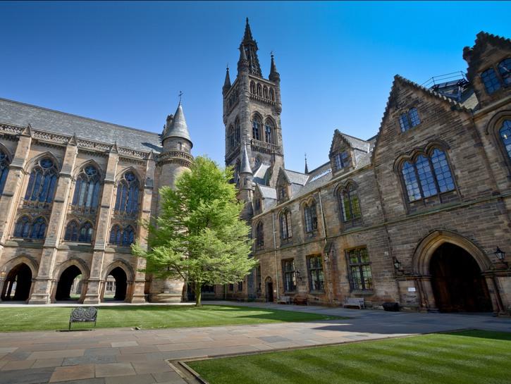 University of Glasgow old buildings.
