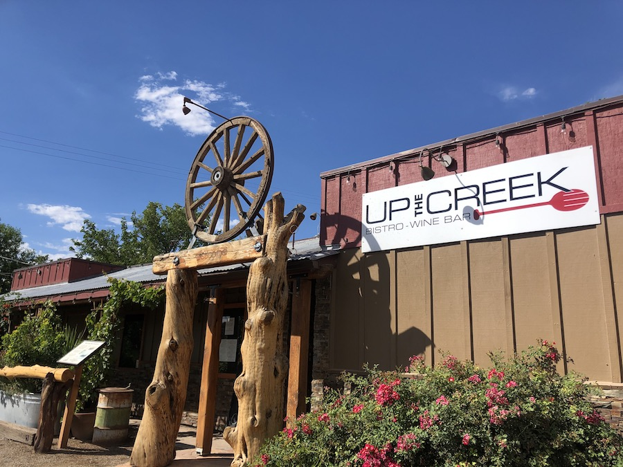 Up the Creek Bistro and Wine Bar in Page Springs.