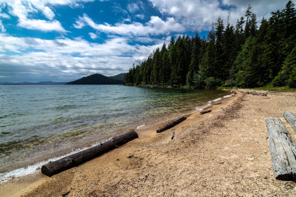 Upper Priest Lake in Boundary County, Idaho.
