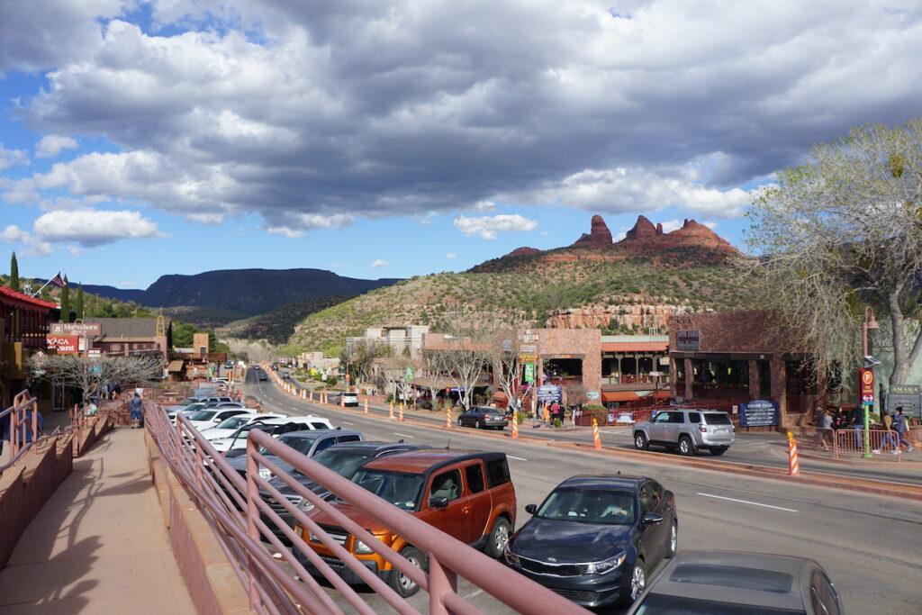 Uptown Sedona, Arizona.