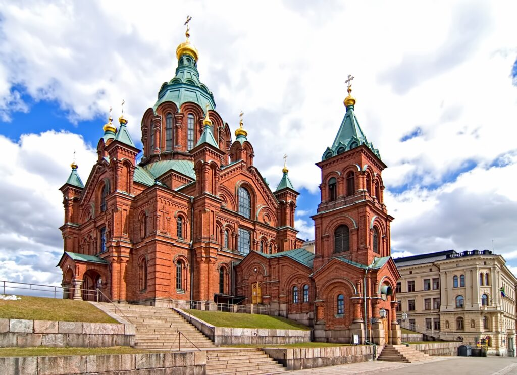 Uspenski Cathedral in Helsinki.