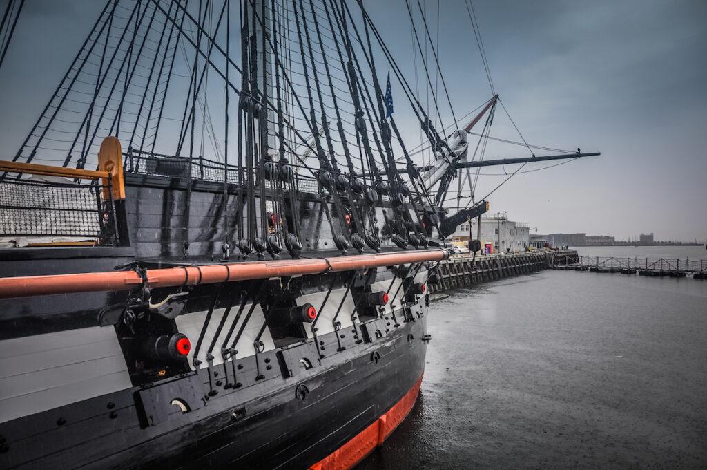 USS Constitution, Boston, MA.