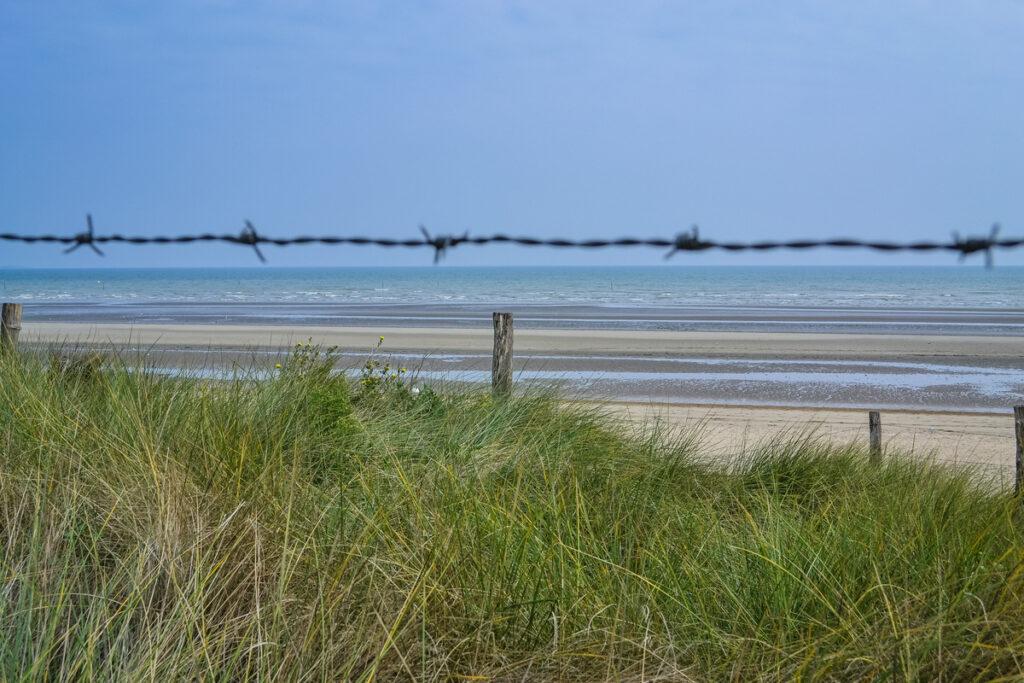 Utah Beach in Normandy.