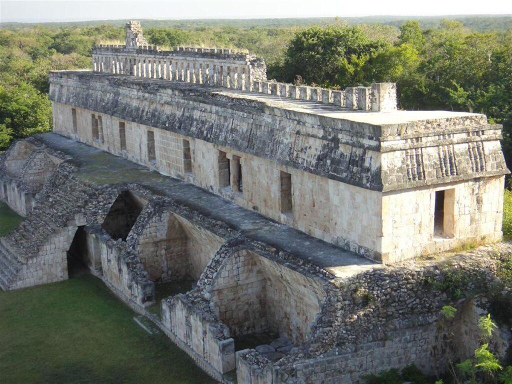 Uxmal Ruin, Yucatan.