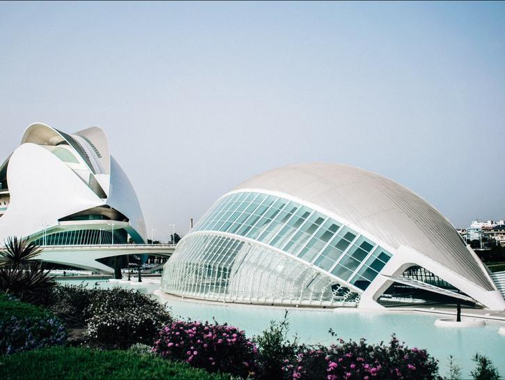 Valencia's Museum of Modern Art building