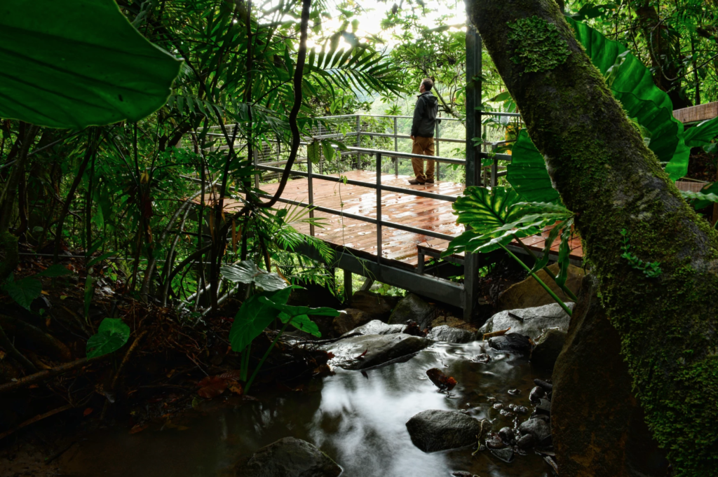 Valle Escondido in Costa Rica.