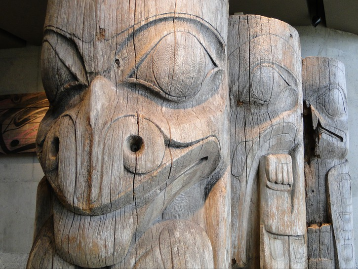 Vancouver's Musesum of Anthropology totem pole