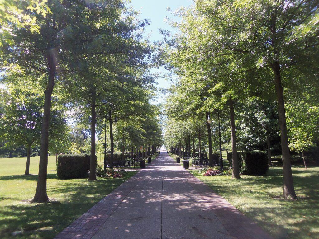 Vander Veer Botanical Park in Davenport.