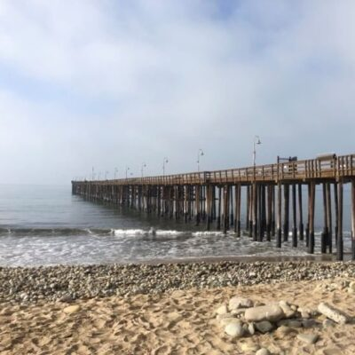 Ventura Pier in Ventura, California.