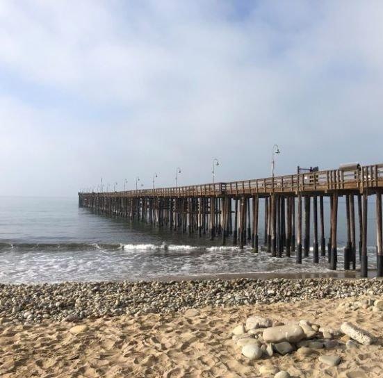 Ventura Pier in Ventura, California.