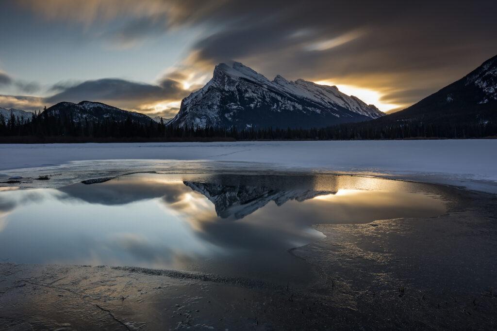 Vermilion Lakes in Banff National Park.