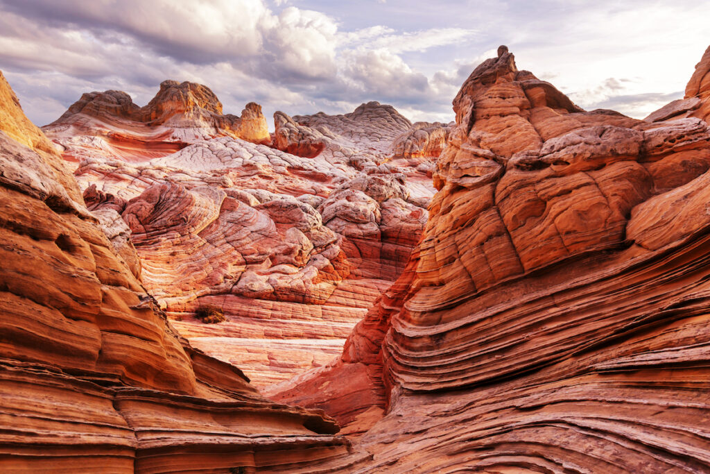 Vermillion Cliffs National Monument in Utah.