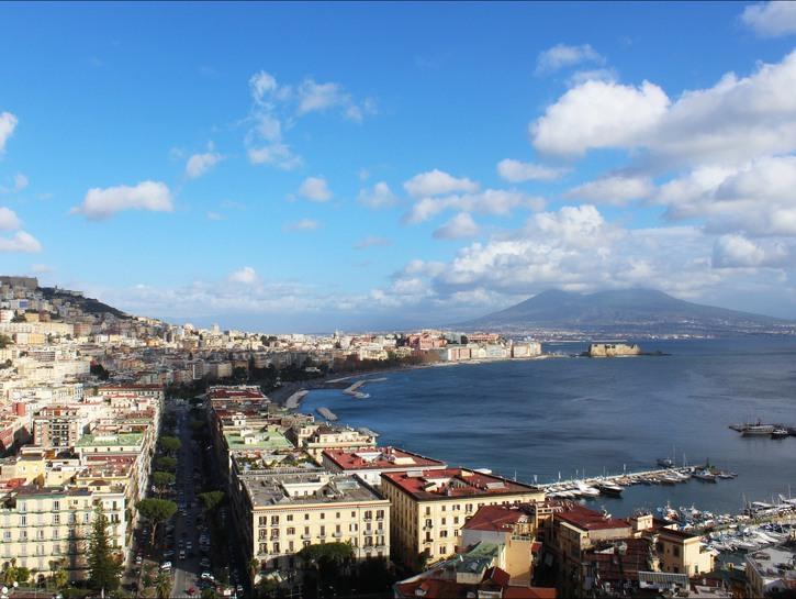 Vesuvius Bay of Naples