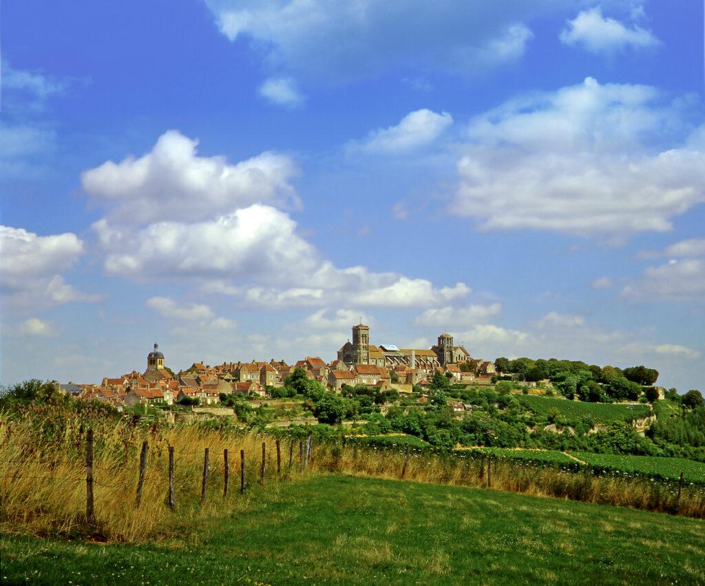 Vezelay, France, a UNESCO World Heritage site.