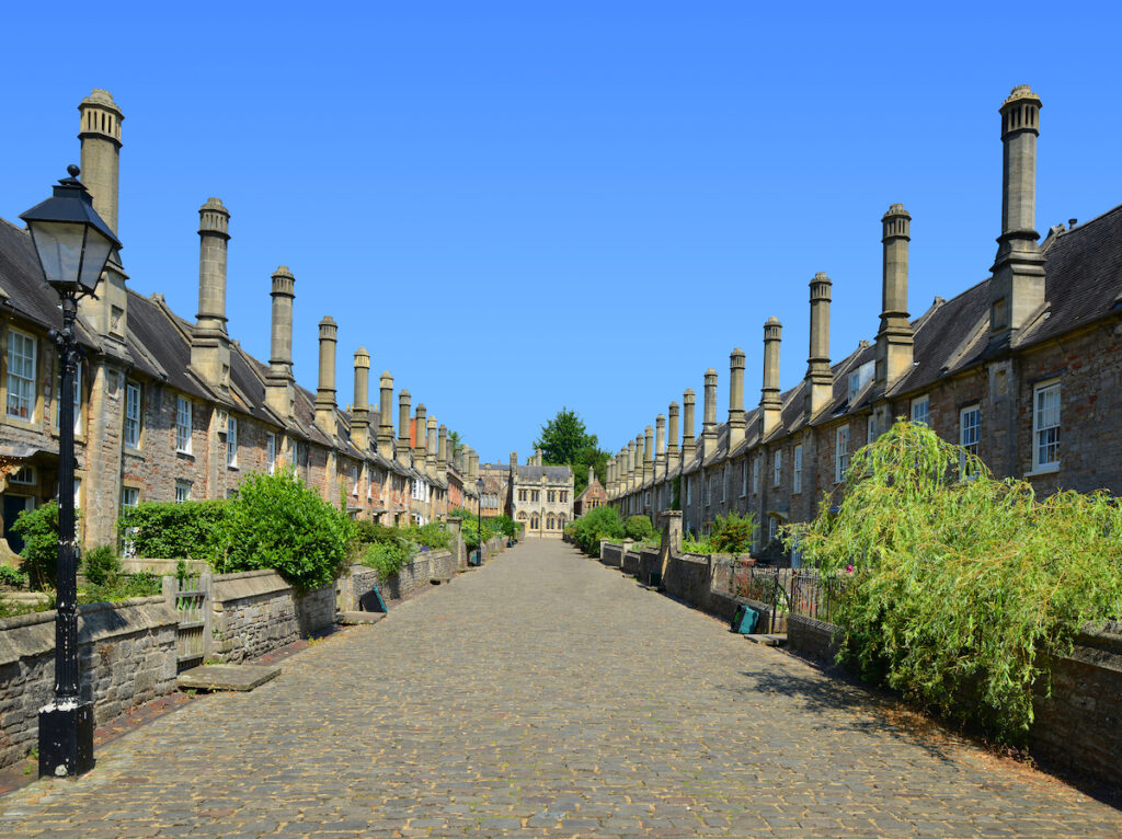 Vicars' Close in Wells, England.