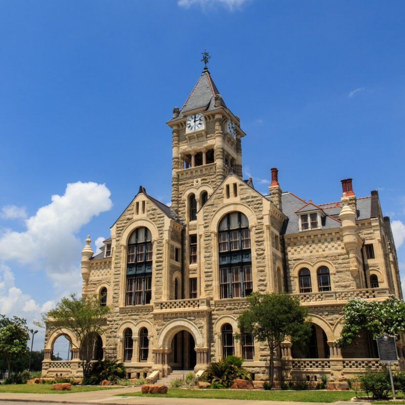 Victoria County Courthouse, Victoria, Texas.