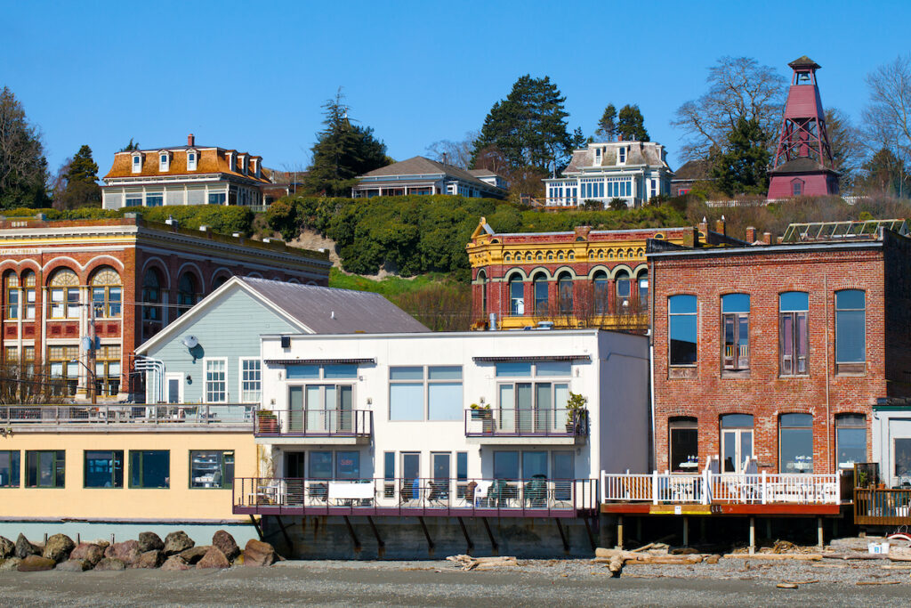 Victorian architecture in Port Townsend, Washington.