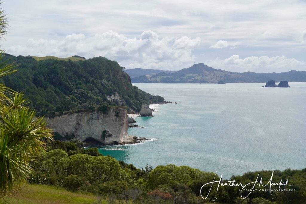 View from Coromandel Peninsula.