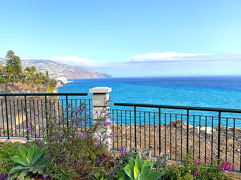 View from Les Suites at The Cliff Bay.
