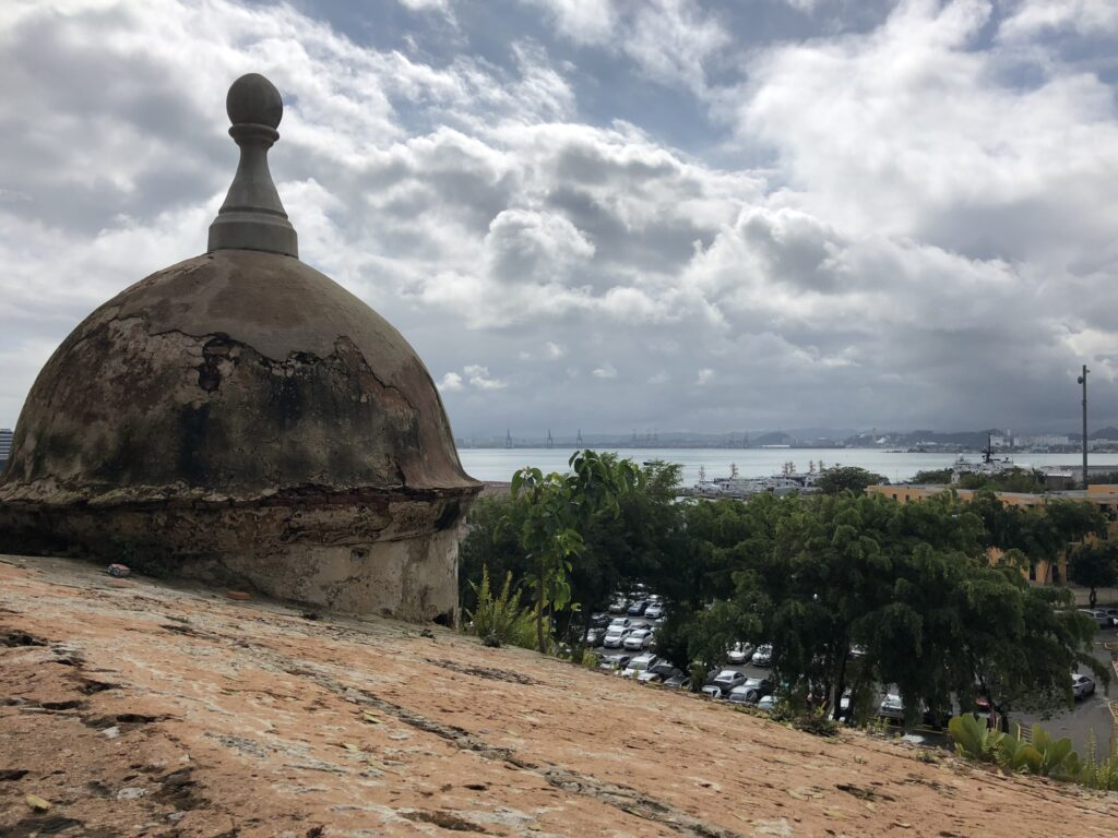 View from the fortress of El Morro.