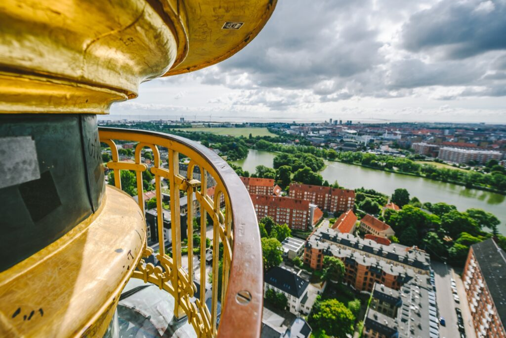 View from the top of the Church of Our Saviour.