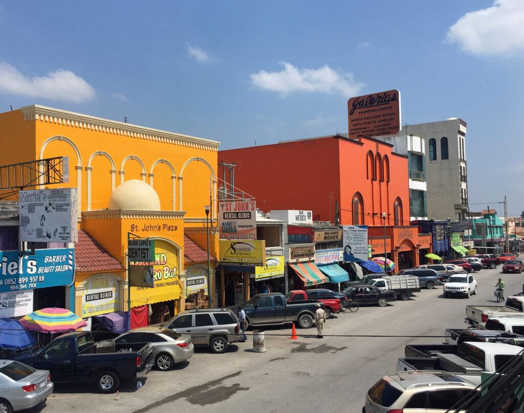 View of Progreso, Mexico.