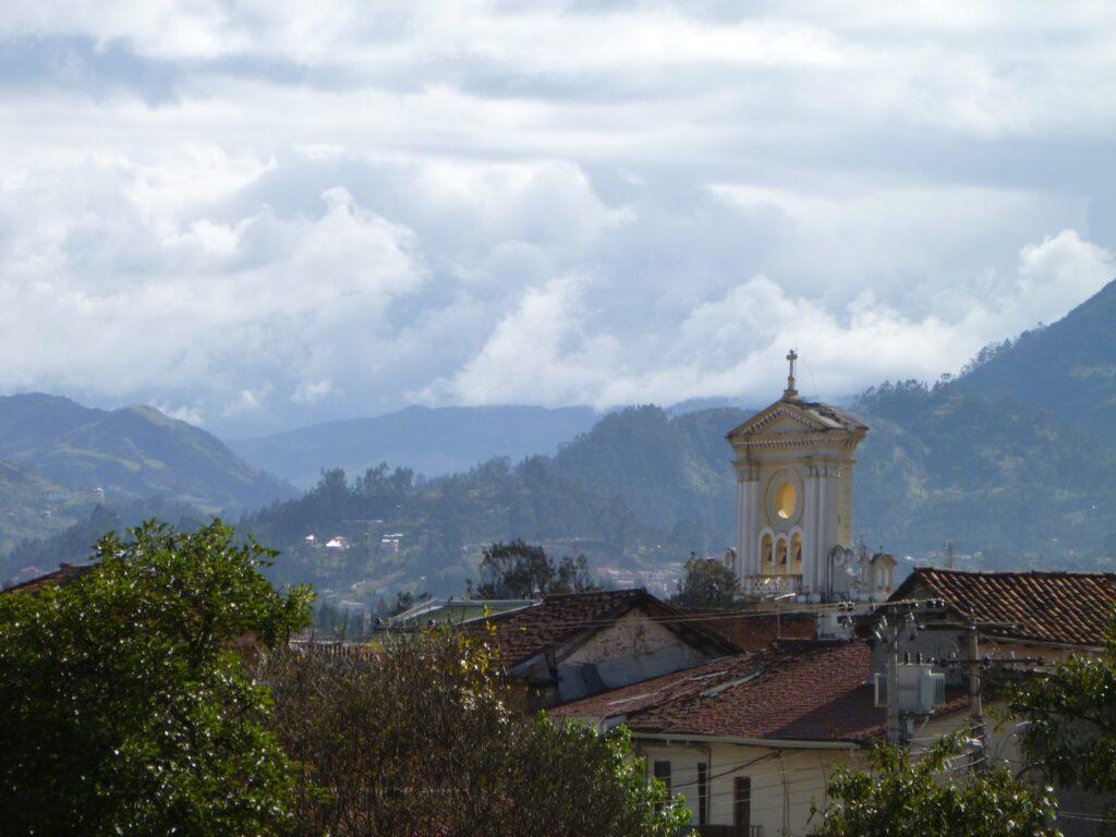 View of the mountains, Cuenca, Ecuador