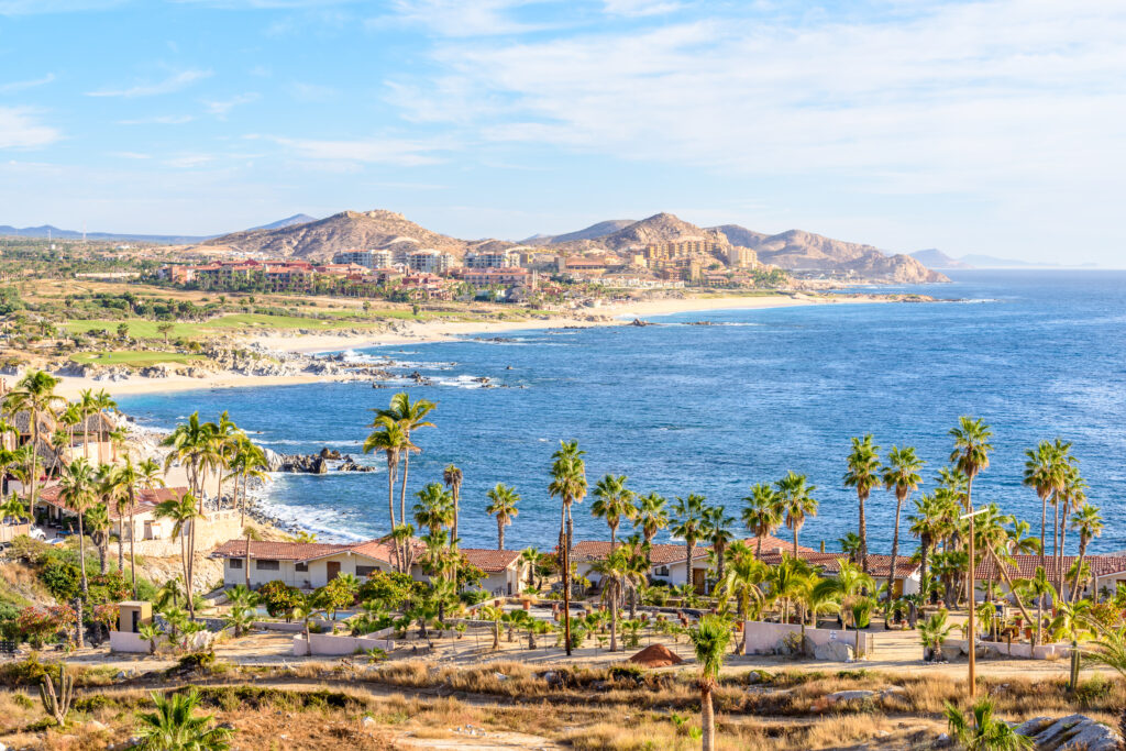 View of the ocean from San José del Cabo