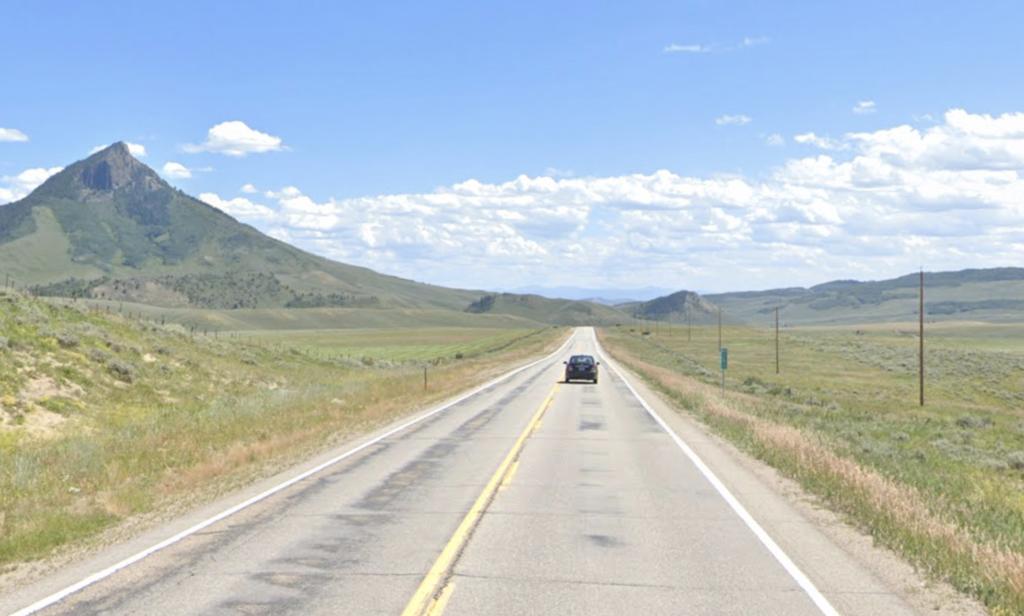 Views along Colorado U.S. Route 40.