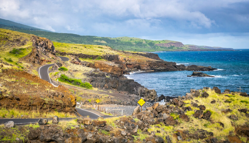 Views along the Road to Hana in Hawaii.