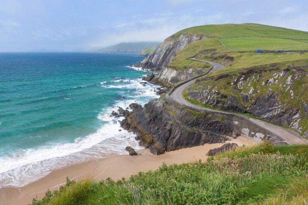 Views along the Slea Head Loop in Ireland.